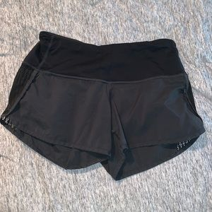 Lululemon Women's Black Athletic Shorts